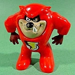 Click here to enlarge image and see more about item C210: TAZ in Red Devil Suit ~ McDonald's Happy Meal 1991
