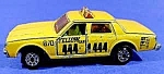 Click here to enlarge image and see more about item C307: Majorette Chevrolet Impala Yellow Cab 1:69
