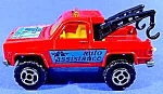 Click here to enlarge image and see more about item C309: Majorette Diecast Wrecker 1:62