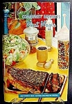 Click here to enlarge image and see more about item C377: Meat Magic Cookbook 1965 - Cook Book