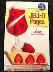 Click here to enlarge image and see more about item C45: Jell-O Pages Recipe Cookbook - 1987