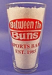 Click here to enlarge image and see more about item C490: Budweiser Glass ~ Between The Buns