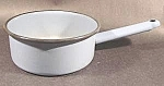 Light Blue Graniteware Saucepan - Vintage