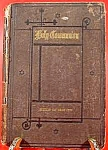 Click here to enlarge image and see more about item C572: Holy Communion Book ~ Preparation & Companion 1882