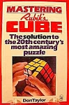 Click here to enlarge image and see more about item C601: Mastering Rubik's Cube by Don Taylor 1980