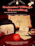Click here to enlarge image and see more about item C618:  Colonial Village Stenciling Book