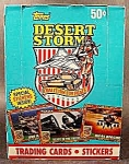 Click here to enlarge image and see more about item C641: Desert Storm 1991 Coalition For Peace 288 Card Set