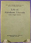 The Life of Abraham Lincoln ~ Ten Cent Series No. 324