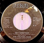 Click here to enlarge image and see more about item C6: Youngbloods ~ 45RPM Recording ~ Get Together ~ RCA