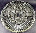Click here to enlarge image and see more about item C724: Anchor Hocking Glass Relish Tray - 1960s