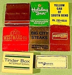 Click here to enlarge image and see more about item C779: Lot of 8 Matchbooks & Matchboxes