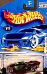 Click here to enlarge image and see more about item C831: 2001 Jester Hotwheels ~ Collector No. 017 ~ Hot Wheels