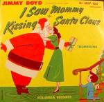 Click here to enlarge image and see more about item C851: I Saw Mommy Kissing Santa Claus ~ 78RPM Recording
