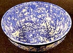 Click here to enlarge image and see more about item C918: Stangl Blue Town & Country Soup Cereal Bowl