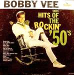 Bobby Vee LP Record Album ~ Hits Of The Rockin' 50s