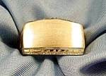 Gents Satin Finish Ring - 14K Yellow Gold - Size 9.5