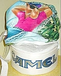 Click here to enlarge image and see more about item D7: Smokin' Joe Beach Bag ~ Camel Cigarettes