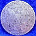 Click to view larger image of Morgan Type Silver Dollar Coin - 1886-O (Image2)