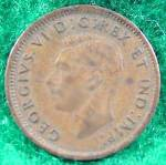 Click to view larger image of Canada One Cent Coin - 1945 (Image2)