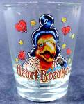 Heart Breaker Shot Glass ~ Flamingo?