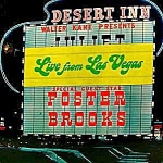Click here to enlarge image and see more about item D43: Foster Brooks LP ~ Live From Las Vegas ~ Autographed