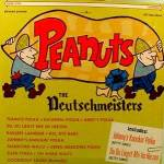 PEANUTS  LP  Record  Album ~ The Deutschmeisters