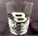 Click here to enlarge image and see more about item D467: Dale Earnhardt Jr Shot Glass ~ 8