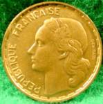 Click to view larger image of France 50 Franc Coin - 1952 (Image2)