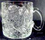 Batman Forever Riddler Glass Mug ~ McDonalds 1995