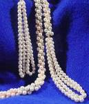 Flapper Rope Pearls - 61 inches - Vintage