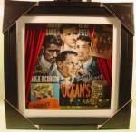 Click here to enlarge image and see more about item D642s: Rat Pack Deep Picture Collage - Las Vegas - Oceans 11