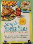 Simple Summer Meals Cook Book