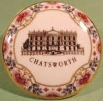 Click to view larger image of Bone China Trinket Box - Chatsworth Castle - England (Image1)