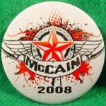McCain Political Campaugn Button - 2008