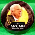 Click here to enlarge image and see more about item D801: John McCain 2008 Poitical Campaign Button