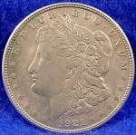 Click here to enlarge image and see more about item D817: Morgan Type Silver Dollar Coin - 1921-S