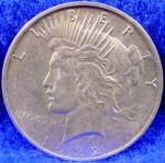 Click to view larger image of Peace Silver Dollar Coin - 1922-D (Image1)