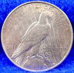 Click to view larger image of Peace Silver Dollar Coin - 1922-D (Image2)