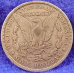 Click to view larger image of Morgan Type Silver Dollar Coin 1883 (Image2)