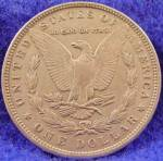 Click to view larger image of Morgan Type Silver Dollar Coin 1896 (Image2)