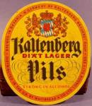 Kaltenberg Beer Coaster Mat - Bavaria Germany - Vintage
