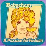Click here to enlarge image and see more about item D863: Babycham Beer Tavern Coaster Mat - U.K. - Vintage