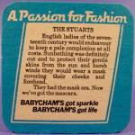 Click to view larger image of Babycham Beer Tavern Coaster Mat - U.K. - Vintage (Image2)