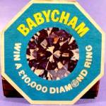 Click to view larger image of Beer Tavern Coaster Mat - Babycham - U.K. - Vintage (Image2)