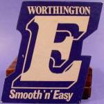 Beer Tavern Coaster Mat - Worthington - U.K. - Vintage
