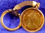 Click to view larger image of Canada Loon Dollar Coin 1989 - Keychain  (Image2)