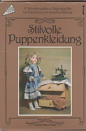 Vintage - German Doll Clothes Patterns - Set-1 - Oo