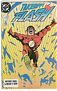 Flash -Takeoff.  DC comics   March 1989 #24 (Image1)