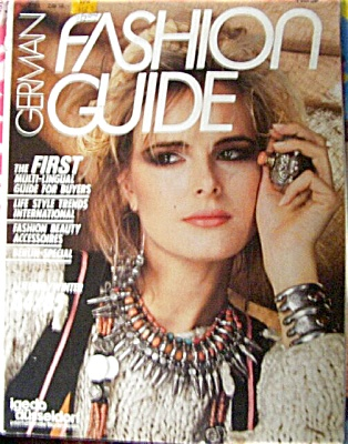 RARE German Fashion Magazine 1984 - 1985 (Image1)