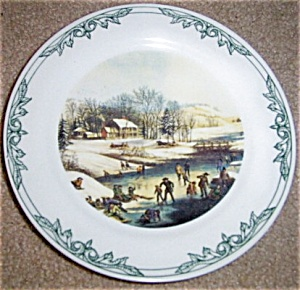 PRINT PLATES BY CURRIER AND IVES PRINT (Image1)